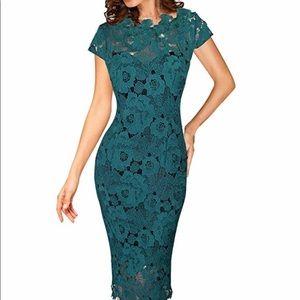 Dresses & Skirts - Gorgeous  Green Cocktail Dress